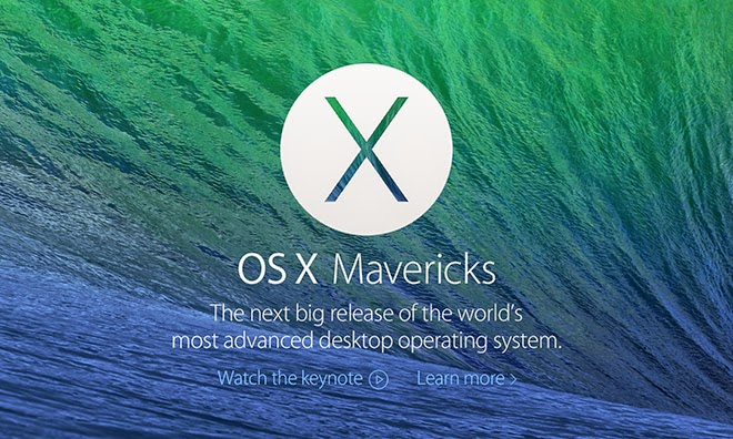 Mountain Lion to - OS X 10.9 Mavericks