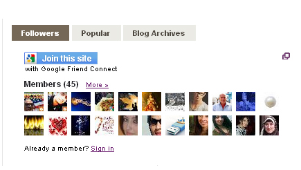Add | Put Three Tab Gadget/Widget In Blog Layout Sidebar On Blogspot