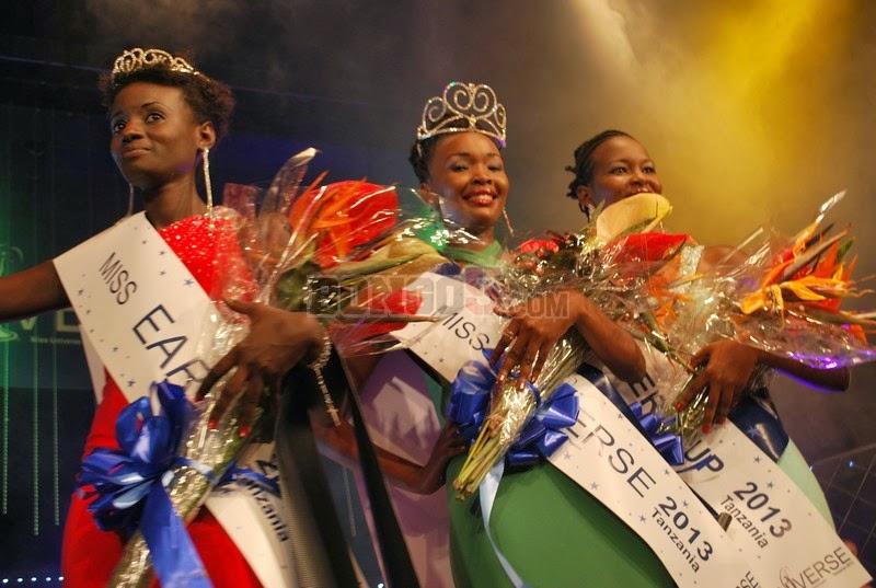 Miss Universe Tanzania 2013 Clara Noor, Betty Boniphace Omara & Aziza Victoria