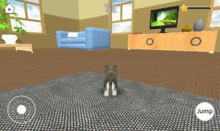 Screenshots of the Pet simulator for Android tablet, phone.