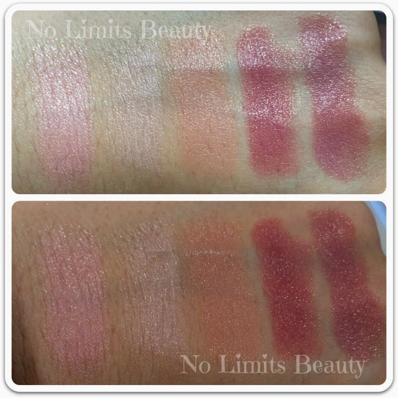I Love Nude de Essence - Nude Longlasting Lipstick - Swatches