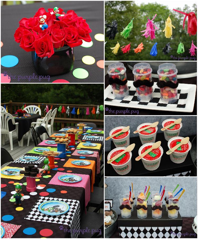 Bird's Party Blog: Real Parties: Mario Kart Mustache Mania ...