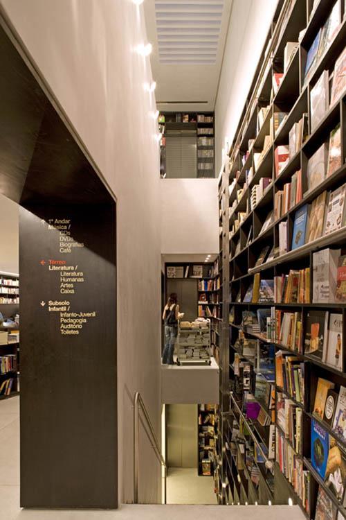 Livraria to underground