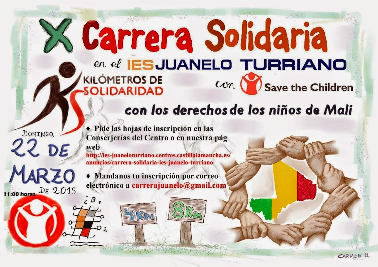 X Carrera Solidaria I.E.S. Juanelo Turriano, de Toledo
