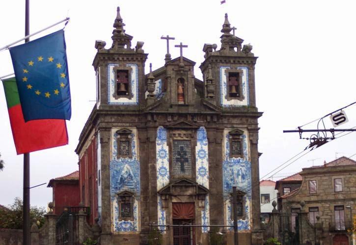 Fin de semana en Oporto. Iglesia San Ildefonso