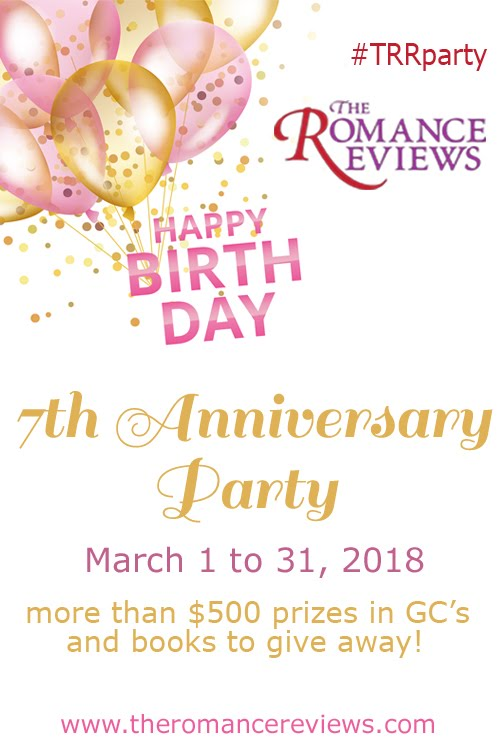 The Romance Reviews Anniversary Party Giveaways!