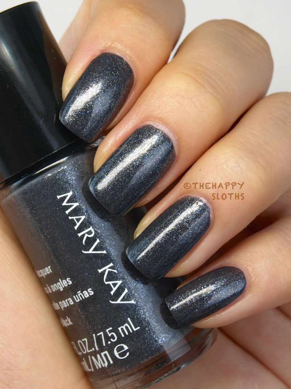 fall 2014 mary kay limited edition midnight jewels collection nail lacquer in night diamond review and swatches