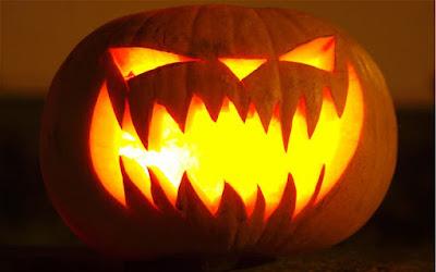 Basic Classic Scary Jack O Lantern