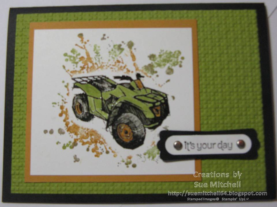 Stampin Up Australia Sue Mitchell Boy Birthday Card Ideas – Birthday Card Australia