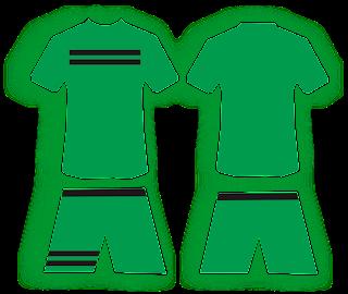 Desain Jersey Sepakbola Hijau