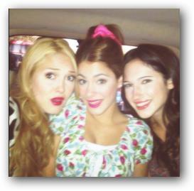 Ludmila, Violetta y Francesca