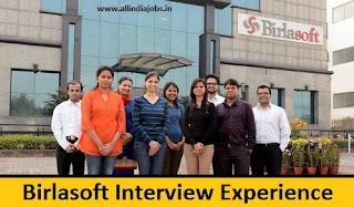 Birlasoft Interview Experience