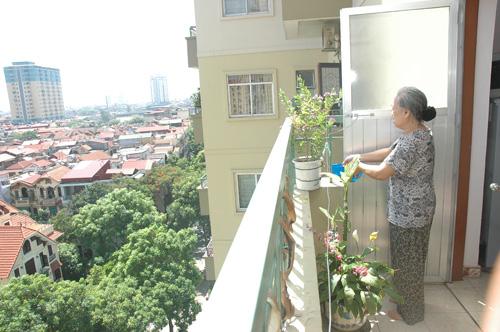 Không gian và môi trường sống của chung cư.