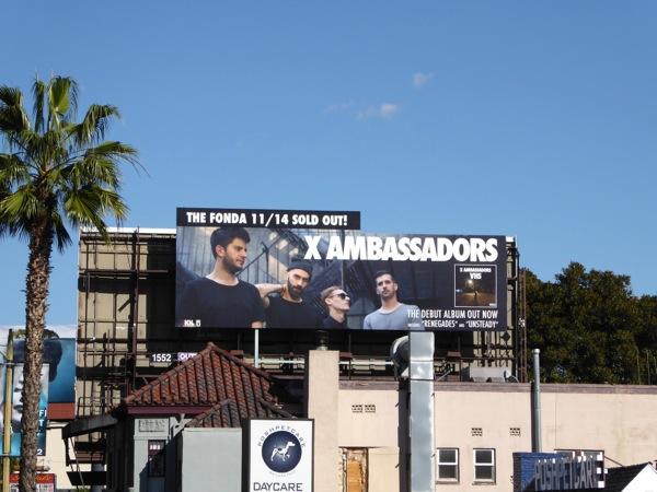 X Ambassadors VHS album billboard