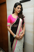 Shaddha das glamorous photos in saree-thumbnail-19