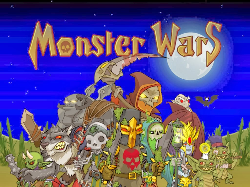 Download Game Android Monster Wars v1.0 + OBB