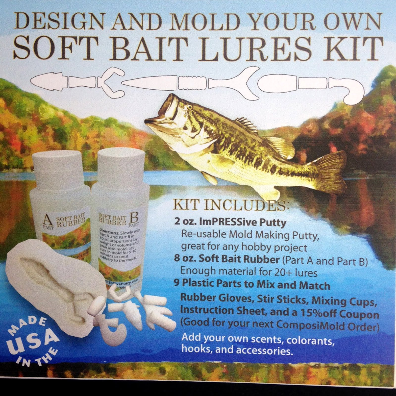 Lure making kits make your own fishing lures - Order Your Fish Kit Today 37 Get S You Everything You Need