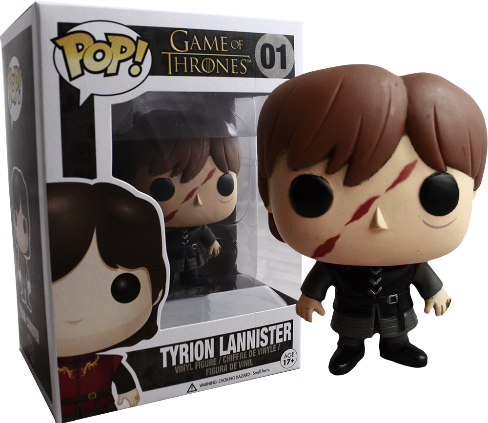 "Funko Pop! ""Scar Face"" Tyrion Lannister [PopCultcha.com Exclusive]"