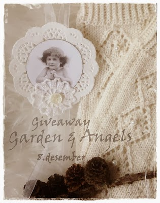 Giveaway hos Garden and Angels