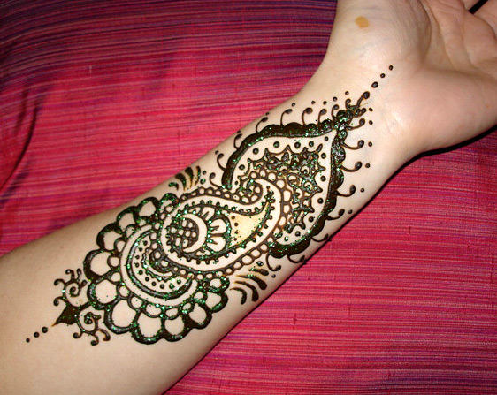 Mehndi Designs Please : Everything about henna difference between arabic mehndi and