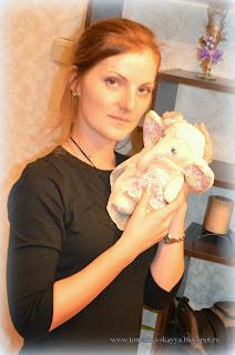 Слон. Текстильная игрушка. Подарок девушке.