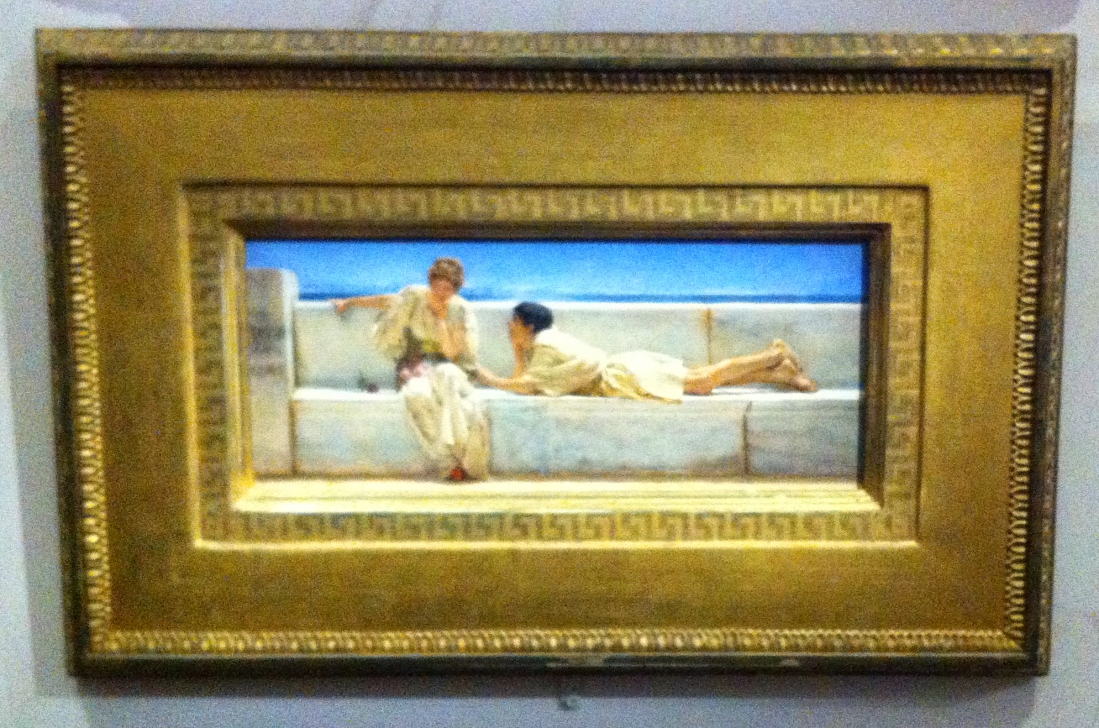 Alma Tadema, La question