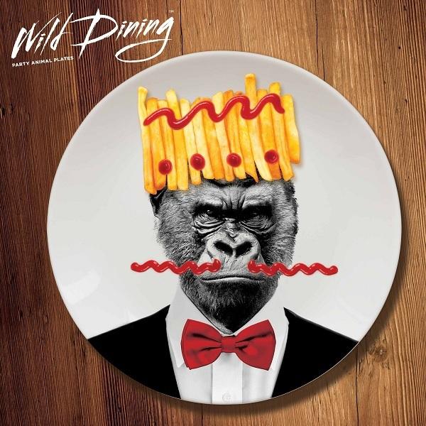 talerz wild dinning goryl
