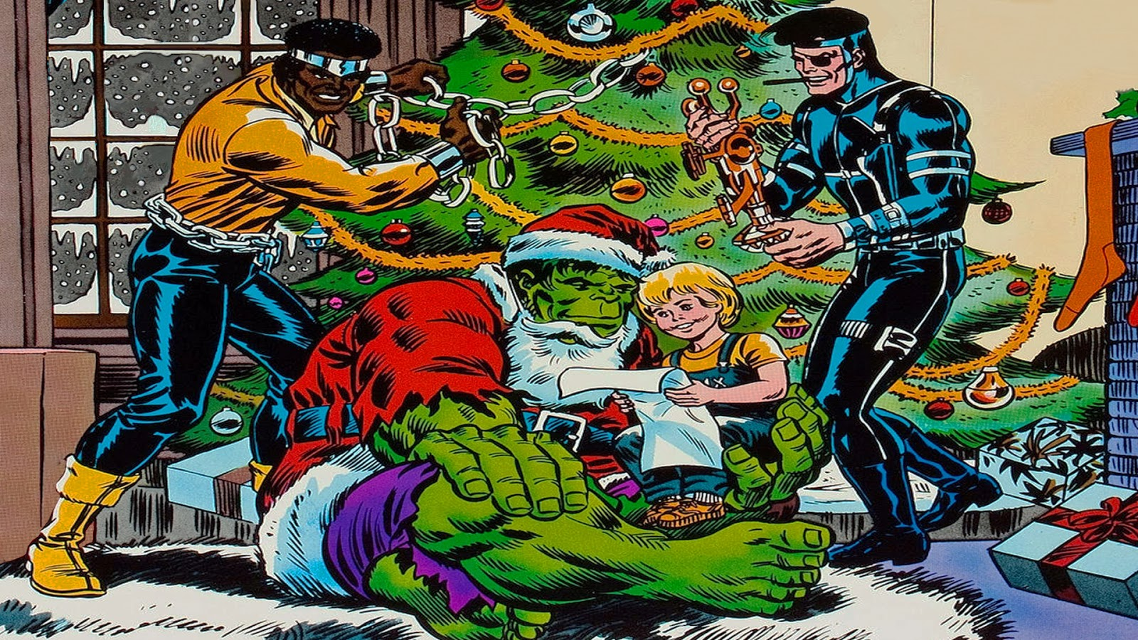Comic Book Cover Backgrounds ~ Neato coolville comic book wallpaper more christmas covers