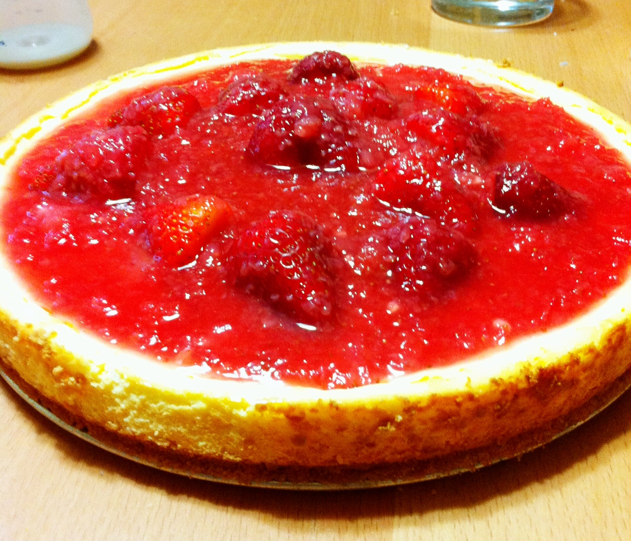 Life Designed Strawberry Cheesecake Happy Birthday Sister