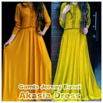 Gamis Jersey Busui Akasia Dress