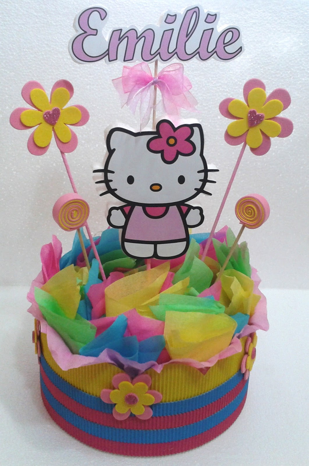 Decoraciones infantiles pack hello kitty for Decoraciones infantiles
