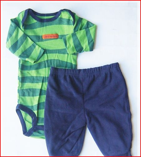 Wholesale branded baby clothes: Carter's boy : 2 pc romper ...
