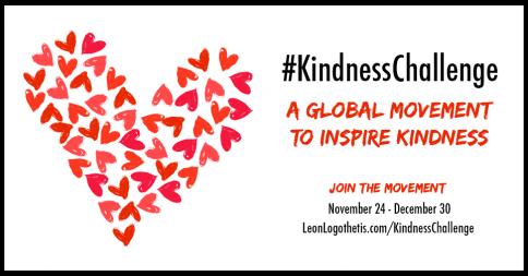 #KindnessChallenge