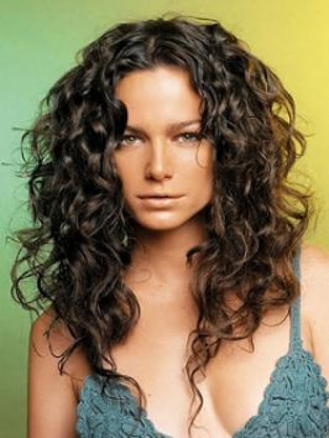curly haircut hairstyle