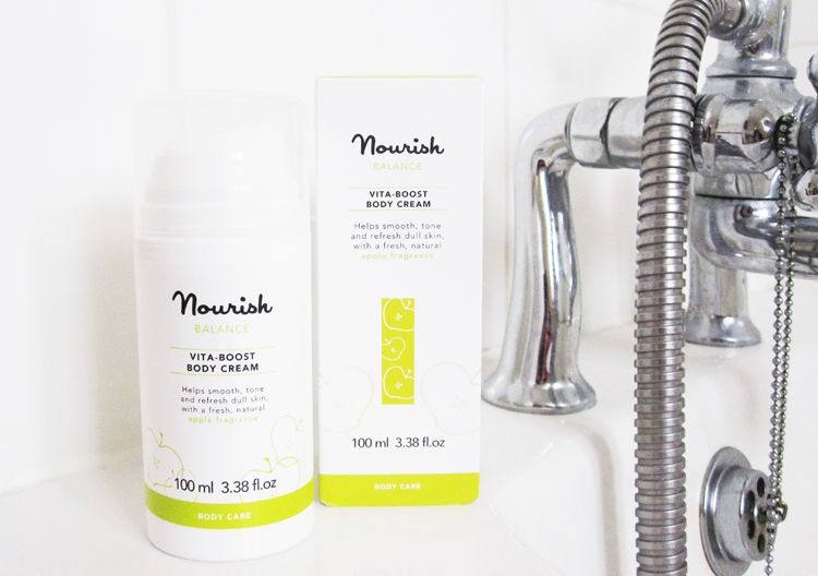 Nourish Balance Vita-Boost Body Cream review