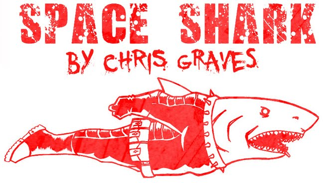 SPACE SHARK COMICS!