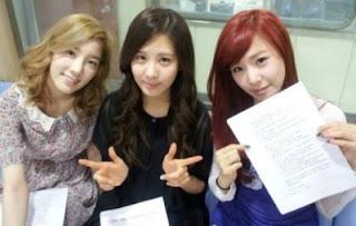 Foto Personil SNSD Taeyeon, Tiffany & Seohyun Tanpa Make Up