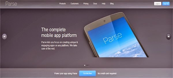 Mobile App Development Tools - Parse