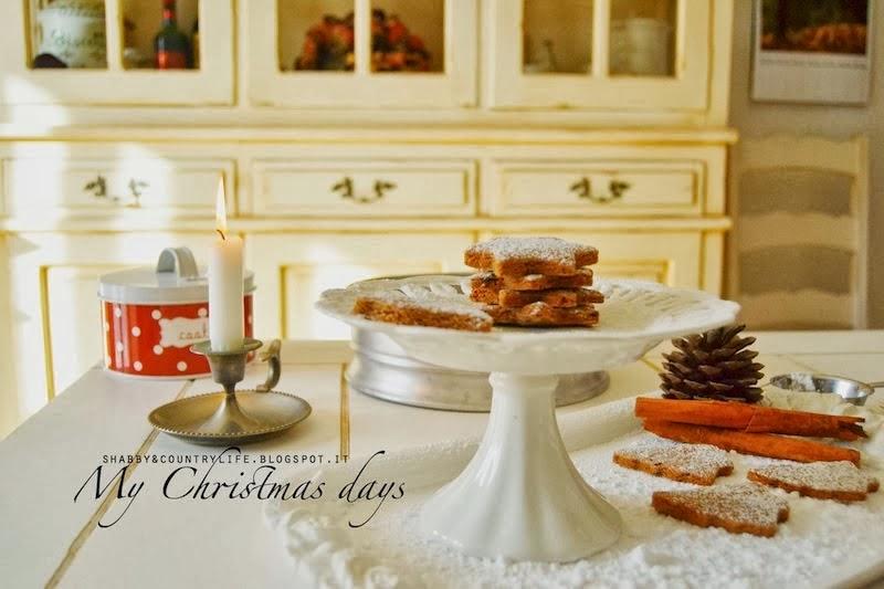 Biscotti di Natale Cannella e Cioccolato-shabby&countrylife.blogspot.it