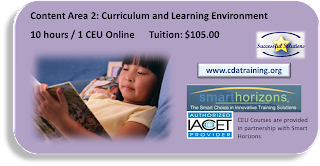 Curriculum and Learning Environment (10 hours / 1 CEU)