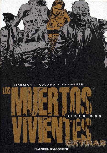 Portada Los Muertos ViVientes Integral tomo 2-extras
