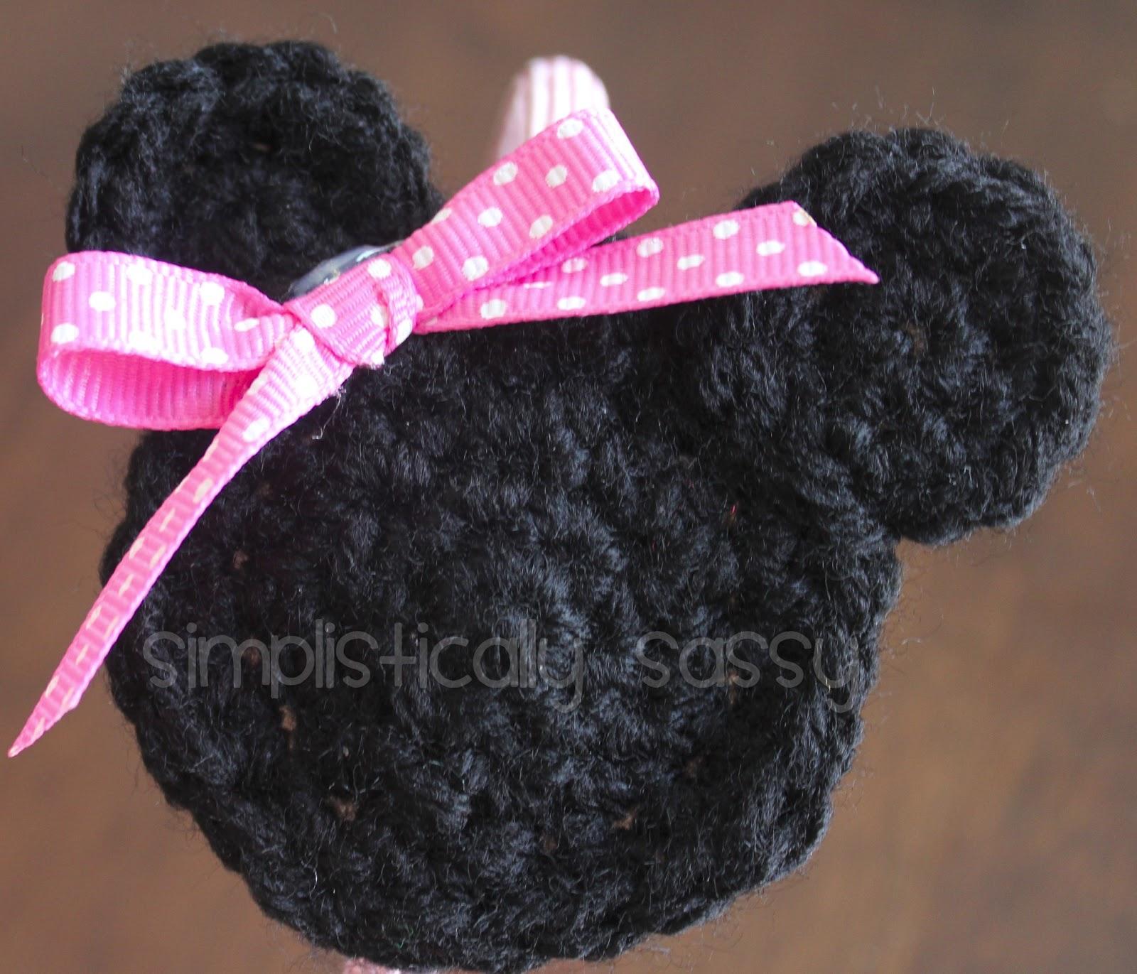 Minnie Mouse Crochet Pattern Free Magnificent Design Ideas