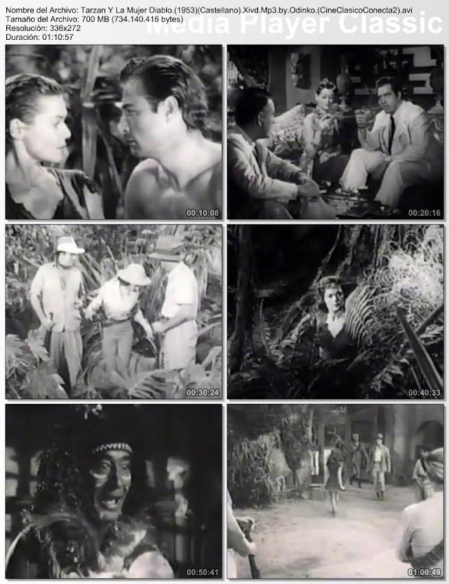 Tarzán y la mujer diablo (Tarzán y la diablesa) | 1953 | Tarzan and the She-Devil