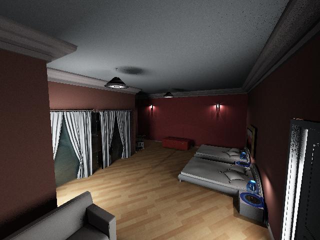 Interiores 3 asignaci n 6 iluminaci n habitaci n doble 2 - Iluminacion habitacion ...