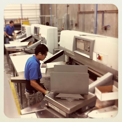 GotPrint employees working print machines