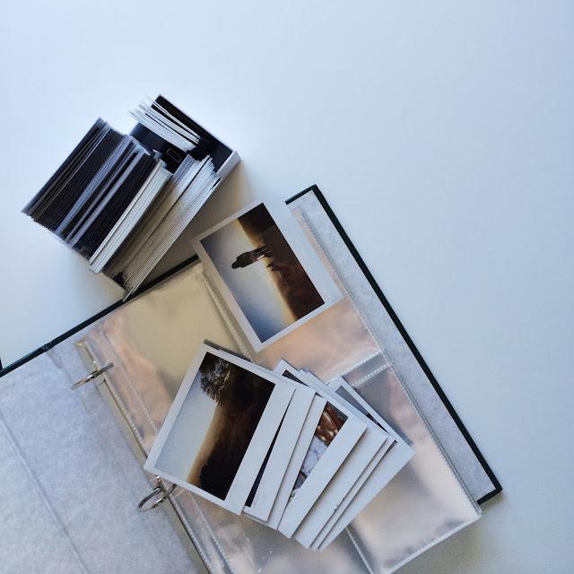 DIY instant film instax photo album