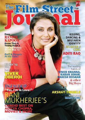 Rani Mukerji Film Street Journal