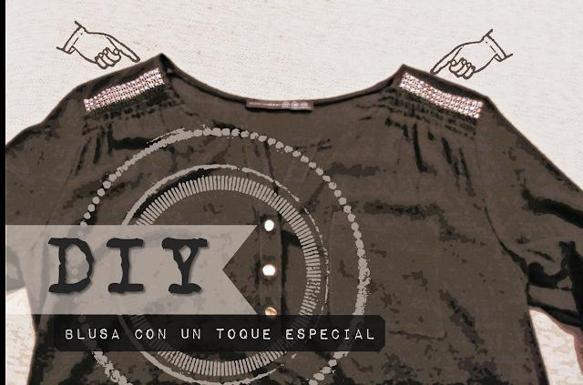 DIY: blusa con un toque especial