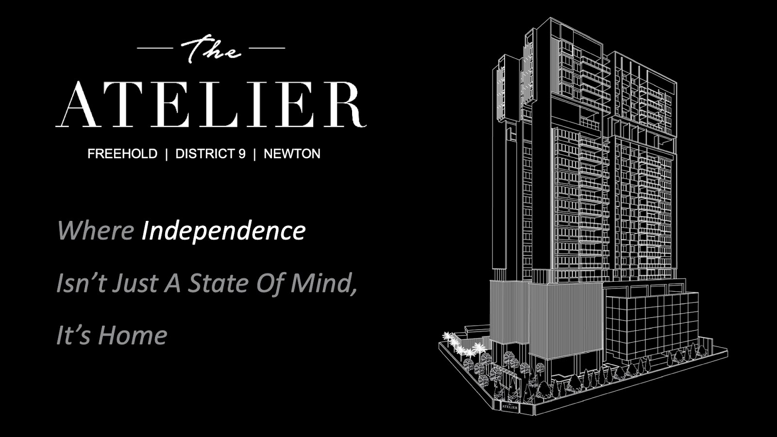 The Atelier for sale!