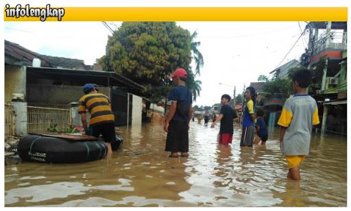 Banjir Bekasi April 2016